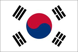 bandiera korea